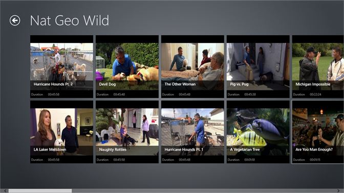 Get Nat Geo Wild - Microsoft Store