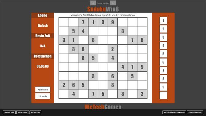 Sudoku Win8 Beziehen Microsoft Store De De