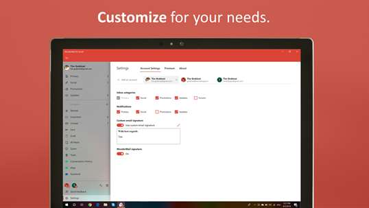 WunderMail for Gmail screenshot 5