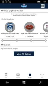 NFL Combine - Fan Mobile Pass screenshot 2
