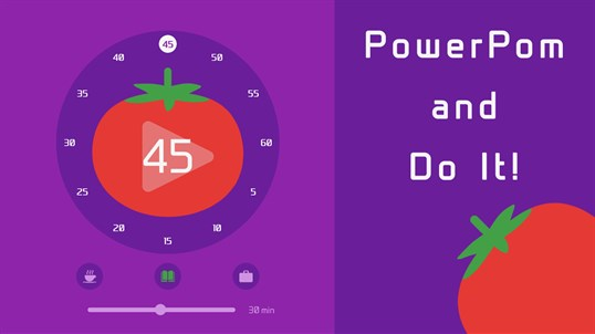PowerPom - Pomodoro Timer screenshot