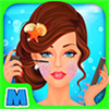 Mermaid Rescue - Makeup & Makeover Fashion Salon Kids Game