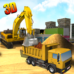 Heavy Excavator Crane 3D - Construction Simulator