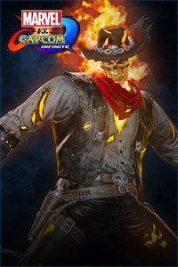 Carátula del juego Marvel vs. Capcom: Infinite - Ghost Rider Outlaw Costume