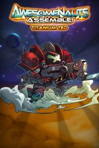 Carátula del juego Titanium Ted - Awesomenauts Assemble! Skin