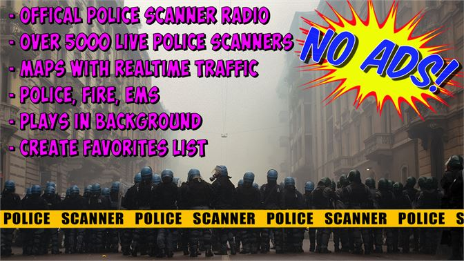 Buy Official Police Scanner Radio - Microsoft Store