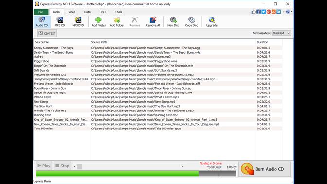 free cd dvd burner for windows 10