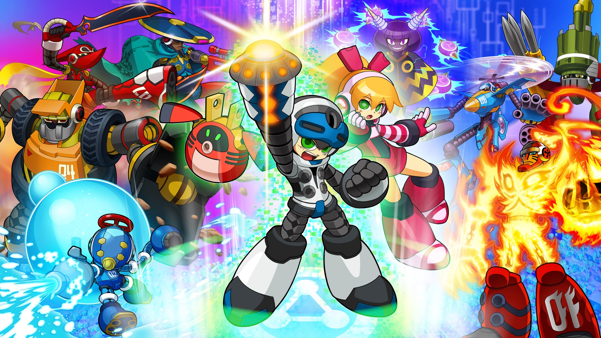 Mighty No. 9 PRE-ORDER BUNDLE