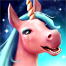 Unicorn Tale - Jumping and Running Pony Legends, Story of the Magic World for Adults and Kids