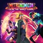 The Metronomicon: Slay the Dance Floor Logo