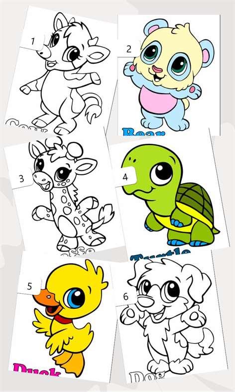 Animals Paint Screenshots 2