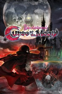 Carátula del juego Bloodstained: Curse of the Moon para Xbox One