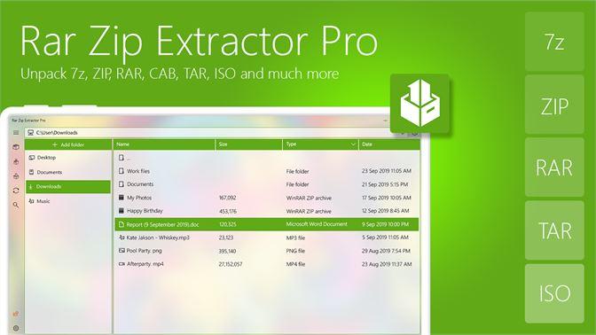 Get Rar Zip Extractor Pro - Microsoft Store