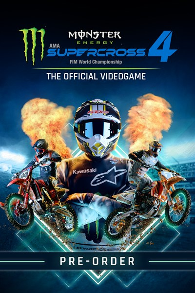 Monster Energy Supercross 4 - Xbox Series X|S - Pre-order