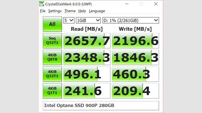 Get CrystalDiskMark - Microsoft Store
