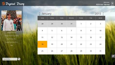 Ежедневник для windows 7