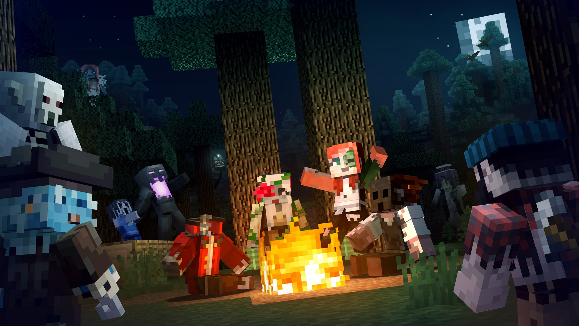 Buy Minecraft Campfire Tales Skin Pack - Microsoft Store
