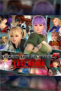 DOA5LR Costumes by Tamiki Wakaki Set
