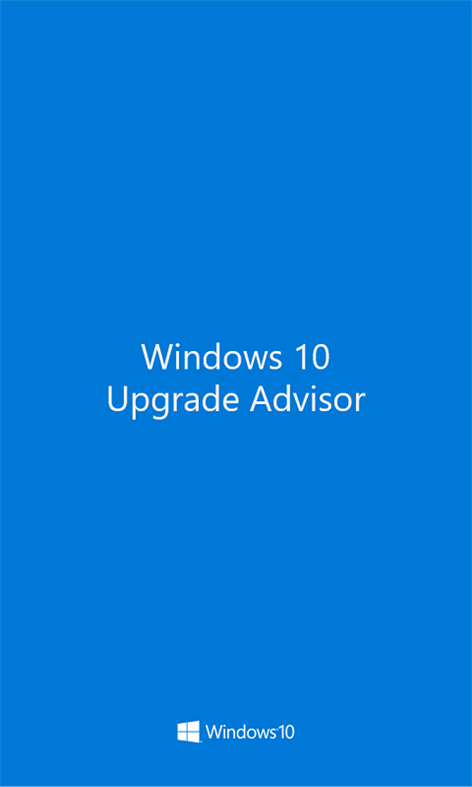 Upgrade Advisor Screenshot