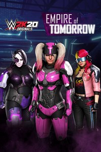 Carátula del juego WWE 2K20 Originals: Empire of Tomorrow