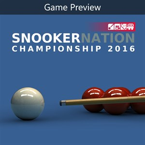Snooker Nation Championship Game Preview Xbox One