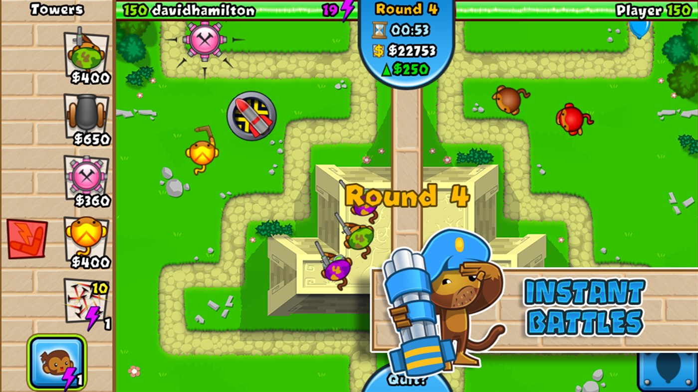 #5. Bloons TD Battles (Windows Phone)