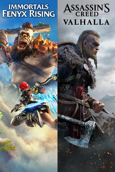 Assassin's Creed® Valhalla + Immortals Fenyx Rising™ Bundle