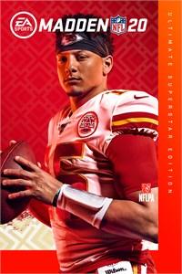 Carátula para el juego Madden NFL 20 Ultimate Superstar Edition de Xbox 360