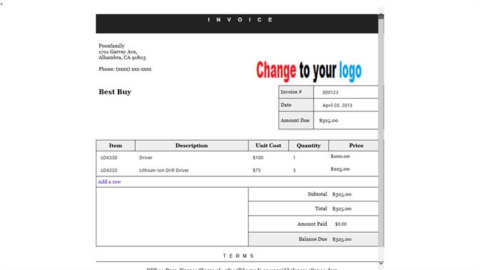 Get Simple Invoice Microsoft Store - What does a simple invoice look like