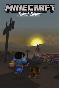 Mash-up Minecraft Fallout