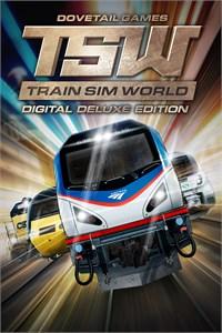 Carátula para el juego Train Sim World Digital Deluxe Edition de Xbox 360