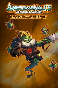 Carátula del juego Bravely Scoop IV: Eternal Fantasy - Awesomenauts Assemble! Skin