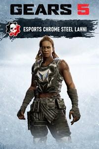المظهر الفولاذي الكرومي للاهني في Esports