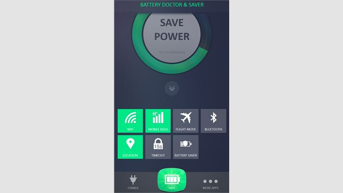Get Battery Doctor – Battery Life Saver - Microsoft Store