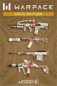 Carátula para el juego Warface - Gold Edition de Xbox 360