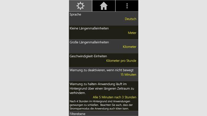 Entfernungsmesser Für Wanderer : Gps tacho beziehen u2013 microsoft store de