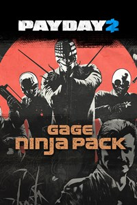 PAYDAY 2: EDYCJA CRIMEWAVE — Pakiet The Gage Ninja Pack
