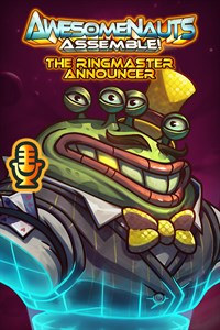 Carátula del juego The Ringmaster - Awesomenauts Assemble! Announcer