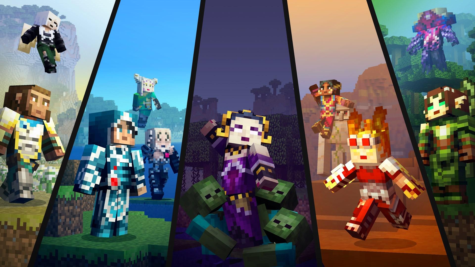 Minecraft Pacote de capas Magic: The Gathering