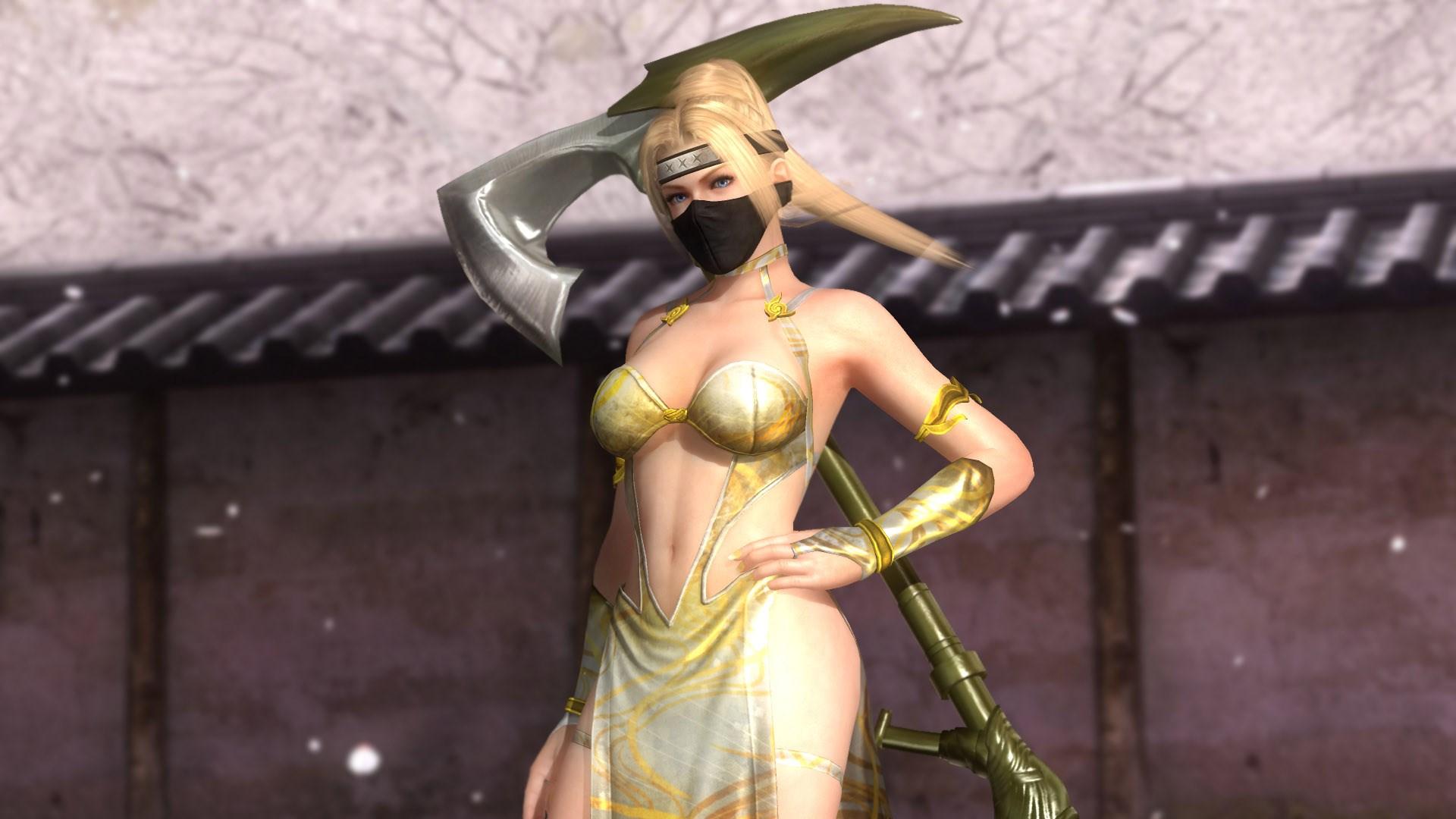 DOA5LR: Clã Ninja 3 - Rachel