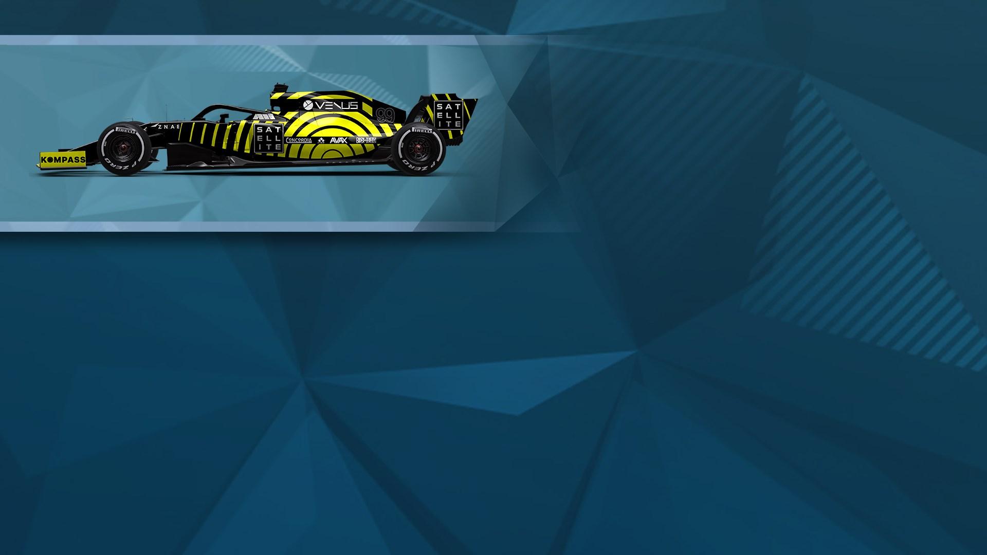 F1® 2019 WS: Car Livery 'VENUS - Ping'