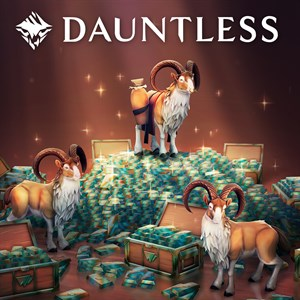 Dauntless: 10,000 (+bono de 4,000) platinos Xbox One