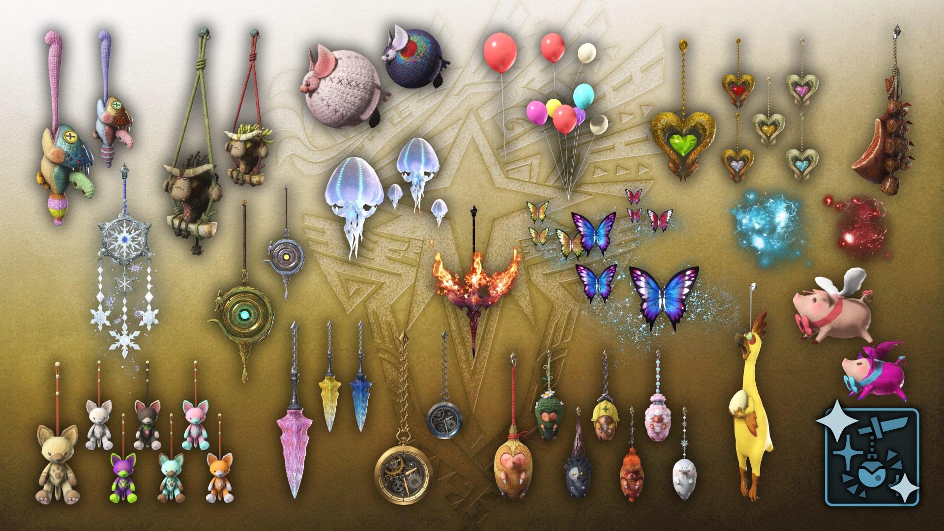 "Monster Hunter World: Iceborne - Pack complet ""Accessoires"""