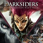 Darksiders Fury's Collection - War and Death Logo