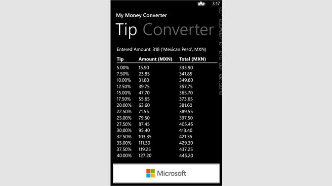 buy my money converter microsoft store