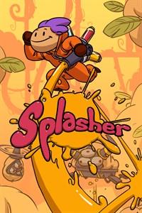 Carátula para el juego Splasher de Xbox 360