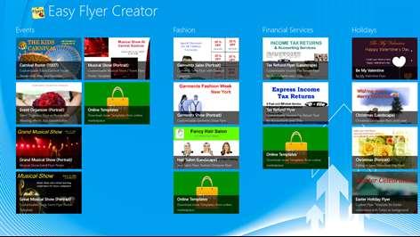 Easy Flyer Creator Microsoft Store – Advertisement Flyer Maker