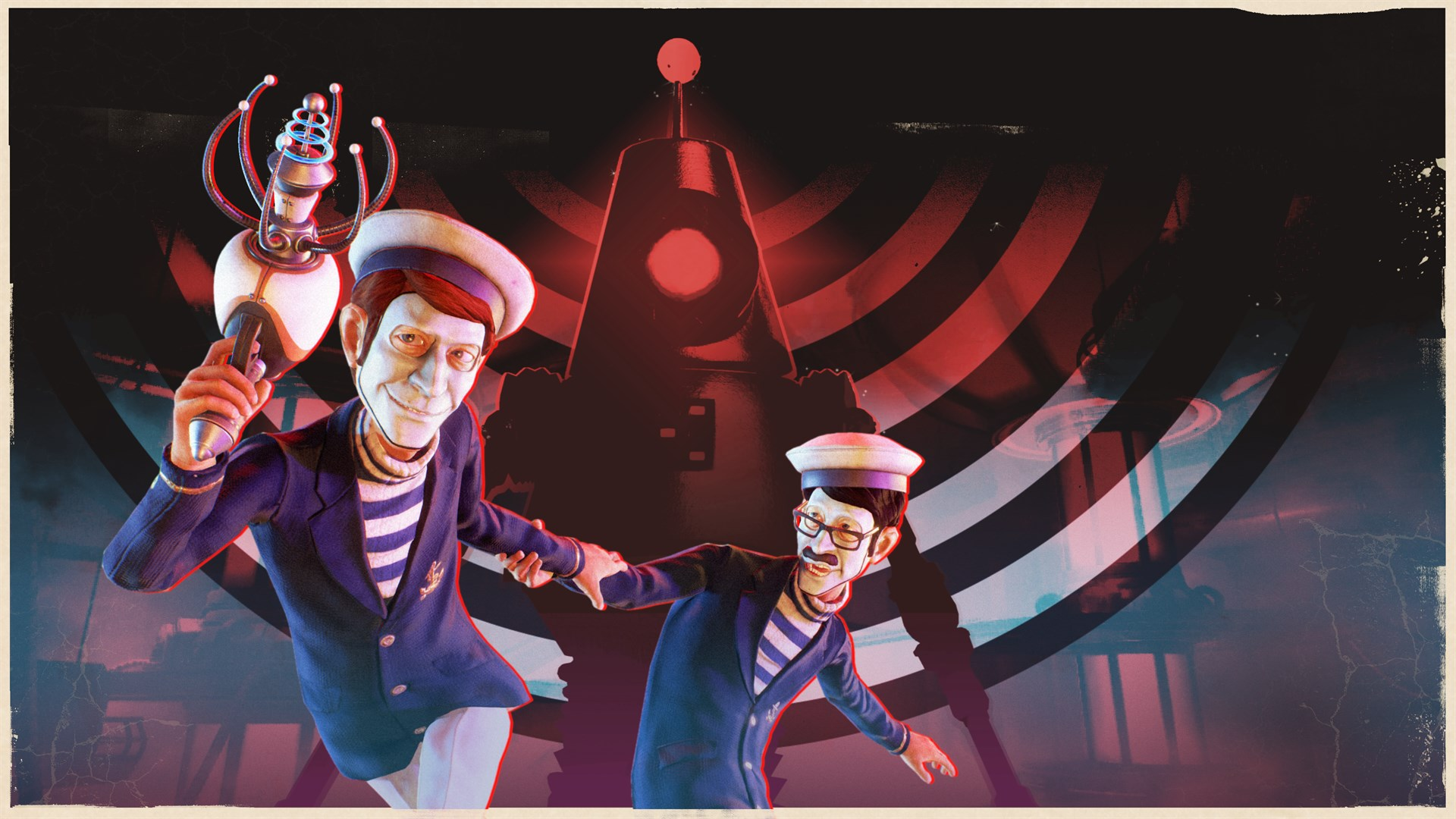 We Happy Few - Roger & James in They Came From Below