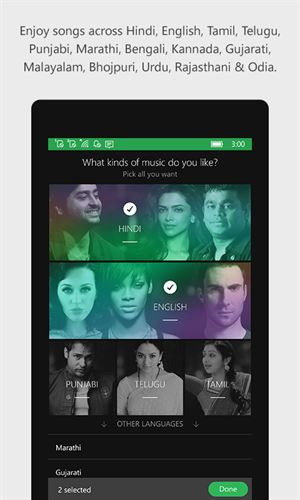 JioSaavn Music & Radio Screenshot