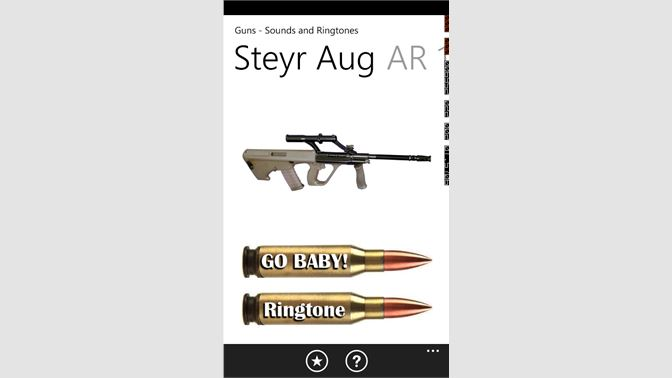 get guns sounds and ringtones microsoft store en bh